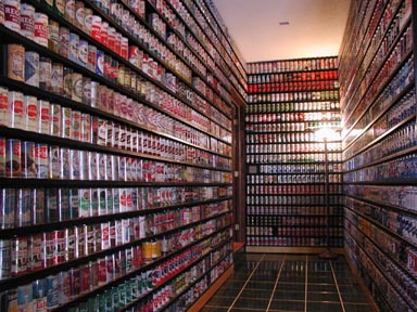 House of Beer Cans