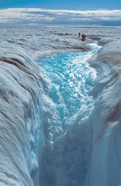Melting Ice Sheet