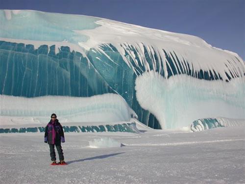 Frozen Tidal Wave