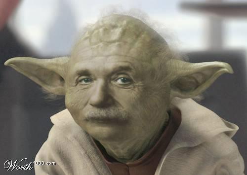 Einstein Yoda